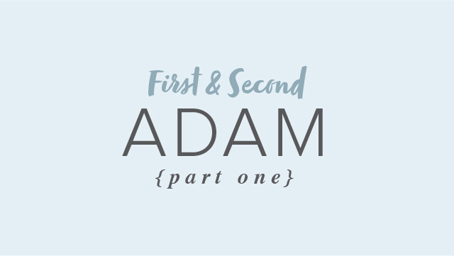 First & Second Adam